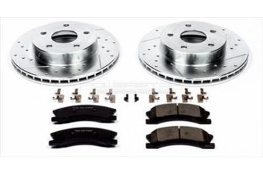 Power Stop Front Brake Kit K2149 Replacement Brake Pad and Rotor Kit