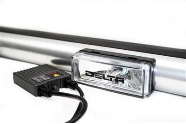 Delta Industries Delta 4X OEM H.I.D. Roof Light Bar - 4 HID Light Systems for Hummer H2 01-9064-HID4 Offroad Racing, Fog & Driving Lights
