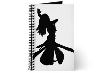 Dancer's Dance Journal by CafePress