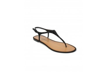 Chinese Laundry 'Glisten' T-Strap Sandals Black, 8.5