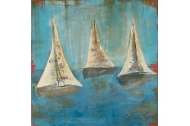 Sail On Poster Print by Melissa Lyons (24 x 24)