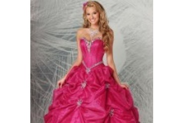 "Q by Da Vinci ""In Stock"" Quinceanera Dress - Style 80172"