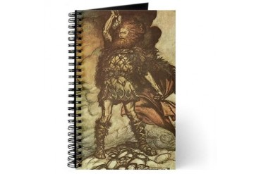 THOR Pagan Journal by CafePress