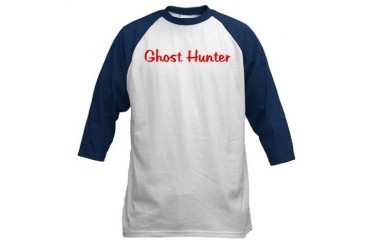 Official Ghost Hunters Jersey Ghost Baseball Jersey by CafePress
