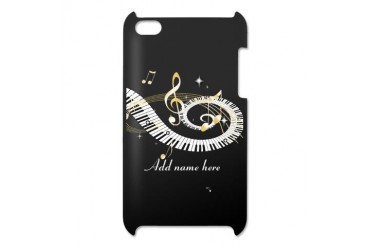 Personalized Piano Musical gi iPod Touch 4 Case