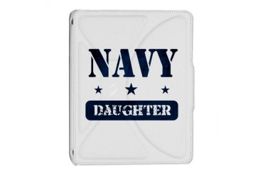 Navy Daughter Navy iPad 2 Cover by CafePress