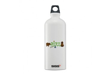 Plott brown Pets Sigg Water Bottle 0.6L by CafePress