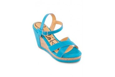 Carlo Rino Platform Wedges With Sling