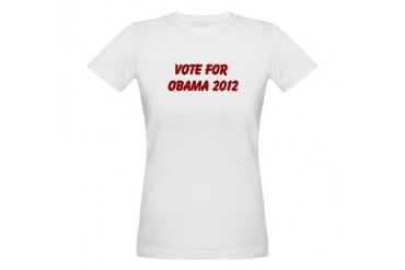 Obama Organic Women's T-Shirt by CafePress