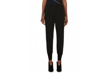 Lanvin Wool Jersey Lounge Pants