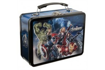 Marvel Comics Avengers Movie Group Rush Tin Lunch Box