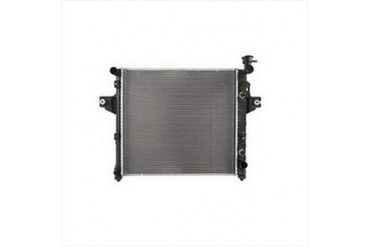 Omix-Ada Replacement 1 Core Radiator for 4.0L 6 Cylinder Engine with Automatic Transmission 17101.26 Radiator