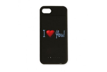 love u2.png I love you iPhone Charger Case by CafePress