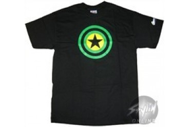 Marvel Comics Captain America Green Shield T-Shirt