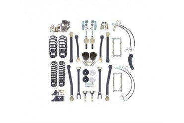 Currie 4 Inch RockJock Lift Kit CE-9807 Complete Suspension Systems and Lift Kits