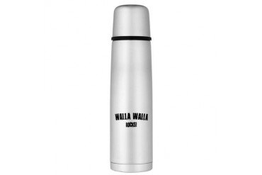 Walla Walla Rocks Large Thermos Bottle Location Large Thermosreg; Bottle by CafePress