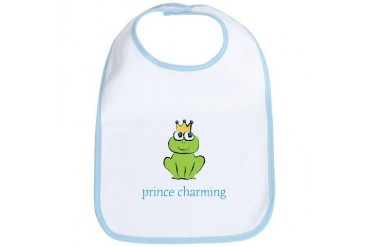 Prince Charming Family Bib by CafePress