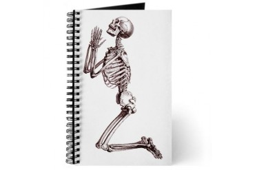 Pretty Please Skull Journal by CafePress