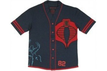 GI Joe Cobra Commander Baseball Jersey