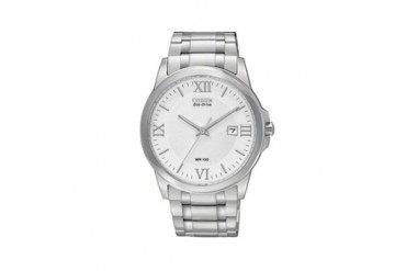 CITIZEN Men s 41mm ECO Stainless Steel Dress Watch BM7260-52A
