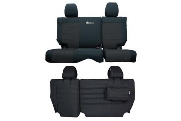 Trek Armor Rear Split Bench Seat Cover TAJKSC0810R4BB Seat Cover