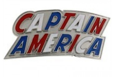 Marvel Captain America Name Belt Buckle
