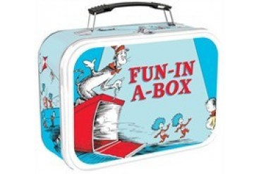 Dr Seuss Fun in a Box Tin Tote Lunch Box