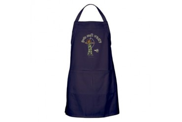 archery-camo-dark.png Sports Apron dark by CafePress