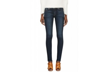 Rag And Bone Blue Faded Wonderland The Skinny Jeans