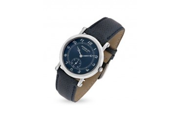 Blue Lizard Stamped Stainless Steel Dress Watch