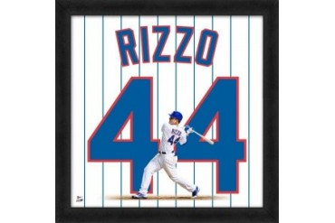 Anthony Rizzo Framed Chicago Cubs 20x20 Jersey Photo