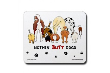 Dog Pack AKC Breeds Funny Mousepad by CafePress