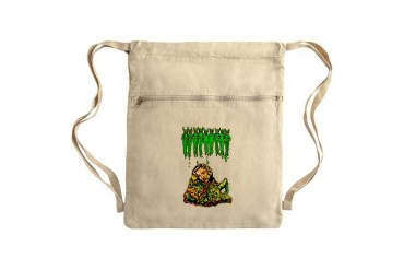 Boo-Cocky Sack Pack Art Cinch Sack by CafePress