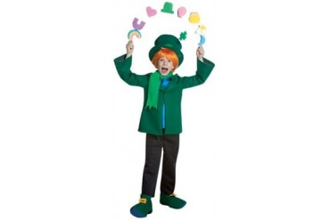Lucky Charms Cereal Childs Size 7-10 Medium Costume