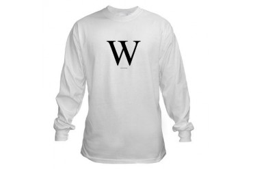 "W"" Long Sleeve T-Shirt"