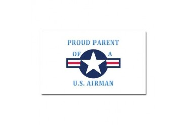 Air Force Parent Air force Car Magnet 20 x 12 by CafePress