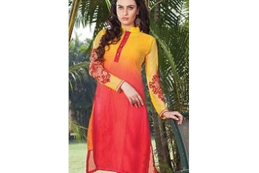 Attractive Georgette Kurti