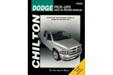 2002-2008 Dodge Ram 3500 Manual Chilton Dodge Manual 20405 02 03 04 05 06 07 08