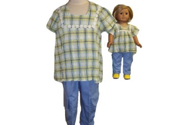 Size 8 Cargo Pants and Matching Doll Clothes