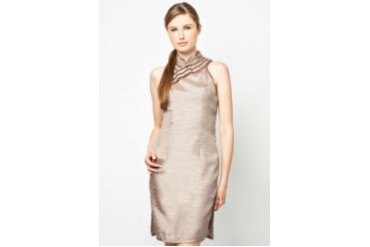 Cut-In Sleeve Qipao