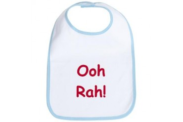 Ooh Rah Military Bib by CafePress