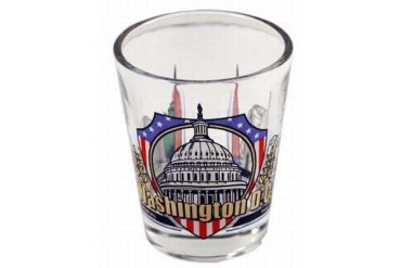 Jenkins Washington Dc Shotglass- 3 View (pack Of 96)