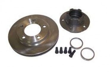 Crown Automotive Hub and Rotor Assembley  J5356183 Disc Brake Rotor and Hub Assembly