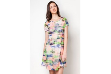 DressingPaula Printed Knee Length Dress