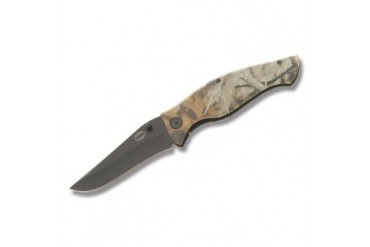 Frost Cutlery Whitetail Cutlery Uncoated Linerlock with Next G1 Vista Camo Handle