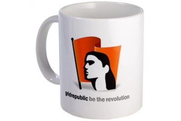 GridRepublic Beverage Mug by CafePress