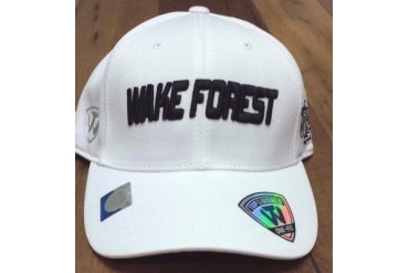 Wake Forest Demon Deacons NCAA TOW Dogleg Stretch Fitted Hat New