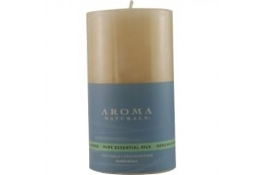 Mediation Aromatherapy 2.75 X 5 Inch Pillar Aromatherapy Candle. Combines