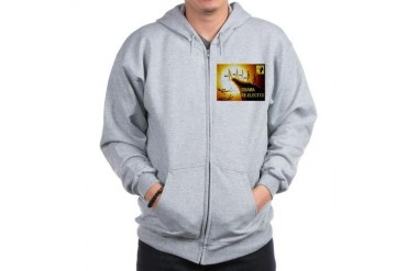 OBAMA CLIFF Conservative Zip Hoodie by CafePress