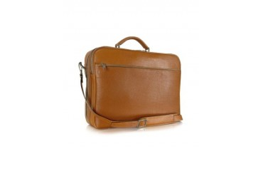 Calf Leather Laptop Briefcase